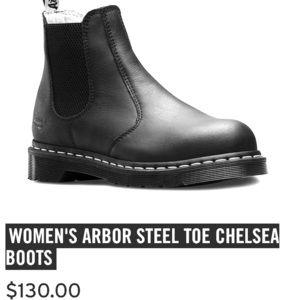 ARBOR STEEL TOE CHELSEA BOOTS